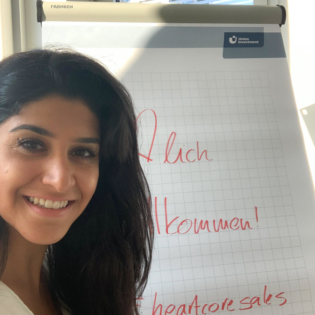 Live Sales Coaching mit Lily Mizani